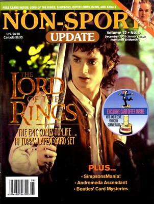 Non-Sport Update -  Xena Gabrielle - Lord Of The Rings - Beatles - Vol 12 #6
