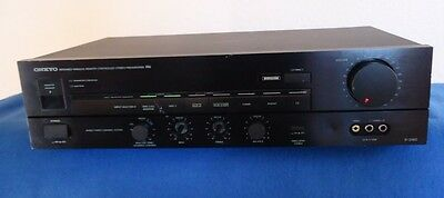 Onkyo S-3160  Stereo Preamplifier, Made in Japan, See Video