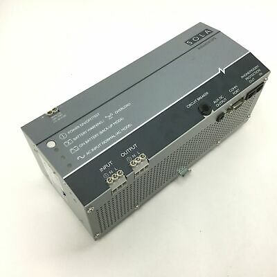 Sola SDU 500-5 Industrial UPS Power Supply, Capacity: 500VA 300W, In: 230VAC 5A
