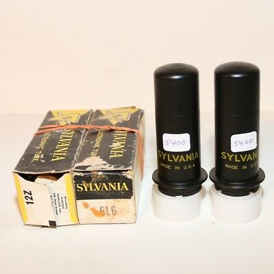 Sylvania 6L6 Tubes Matched Date Codes