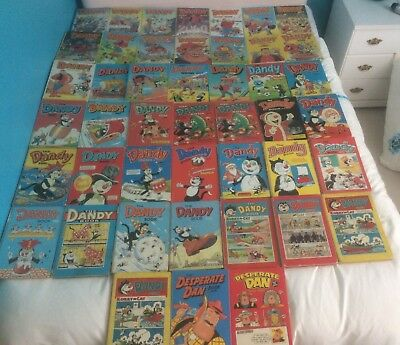 Dandy books Collection, various years and condition