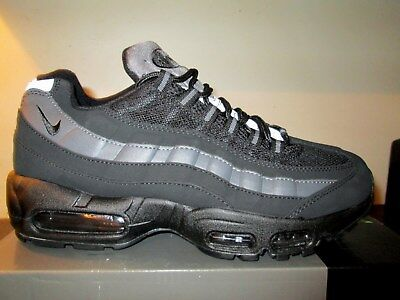 premium selection c9f0e 13bfb Nike Air Max 95 OG Mens Boys Trainers . Black Grey Sizes 6 - 11 .