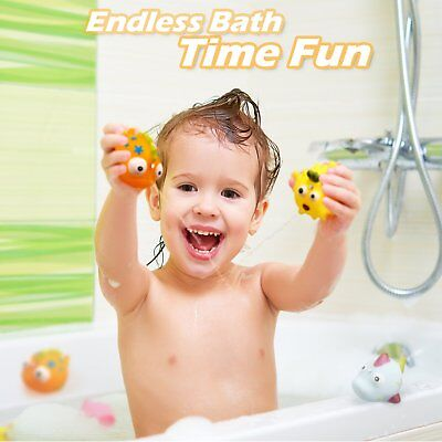 Bath Toy Games Bathtub Fun Time Toys Set Fishing Floating Best Gift for kids