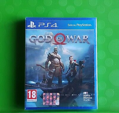 God Of War Gow Ps4 Playstation 4 Nuovo Sigillato Completamente In Italiano