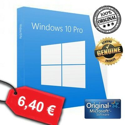 Windows 10 Pro 32/64 entrega inmediata Multilanguage Licencia Original Serial