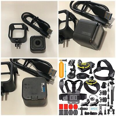 GoPro HERO5 Session Camera CHDHS-501 + Sports Accessories Kit Bundle! (151)