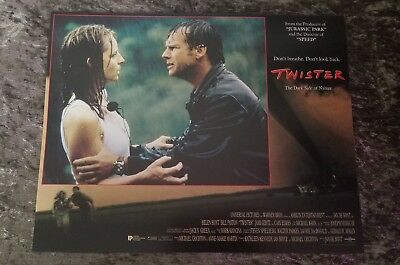 Twister lobby cards - Bill Paxton, Helen Hunt - Set of 8 - (1996)