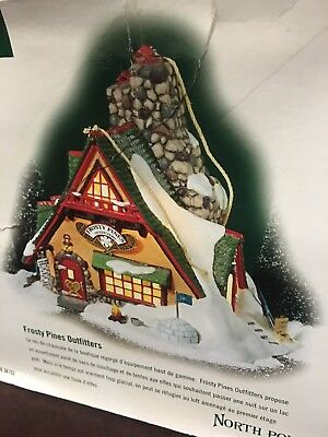Department 56 Frosty Pines Outfitters North Pole Series House