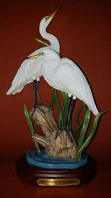 The Danbury Mint The Boys By Art Lamay Birds Of A Feather Sculpture Collection