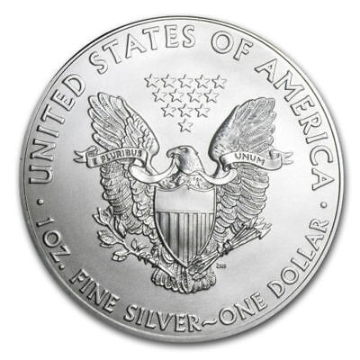 Silver American Eagle , Silver Dollar Brilliant Uncirculated NEW - FREE SHIPPING