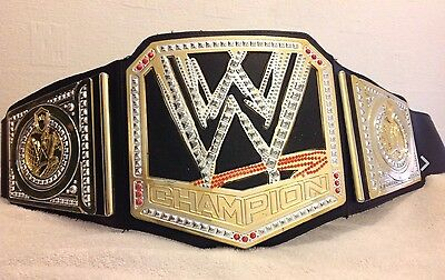 Clasisc Scratch Logo 2012 WWE WORLD HEAVYWEIGHT CHAMPION WRESTLING BELT Kid Toy