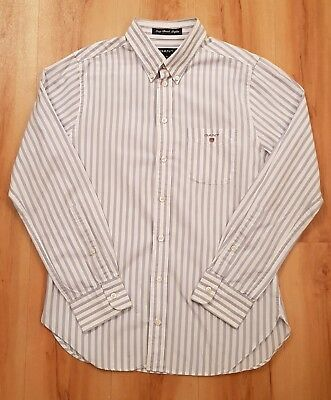 GANT Boys Long Sleeved Striped Shirt. Age 11-12 years