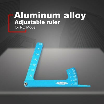 Alloy Adjustable Ruler Measure RC Car Height Wheel Rim Camber for RC Model NZ