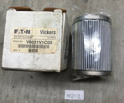 NEW IN BOX! Vickers V6021V1C05 Hydraulic Filter Element | FAST SHIPPING!