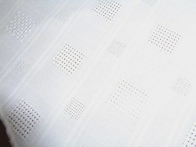 "New  Table Cloth  Solid White   about 68""Round  Diameter easy care Polyester"