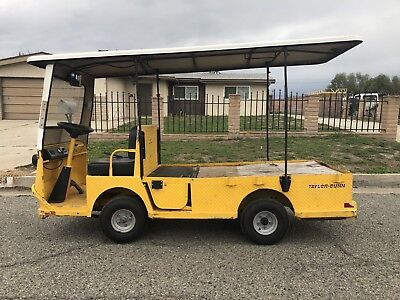 2010 Taylor Dunn B2-48 Industrial Flatbed Electric Utility Cart 2 Or 4 Seater