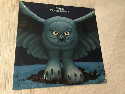 Rush-Fly By Night-**SEALED**-1975 Original 1st Press Release-SRM-1-1023 Mercury