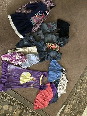 MIXED LOT OF GIRLS CLOTHES 22 Pcs SIZE 5/6