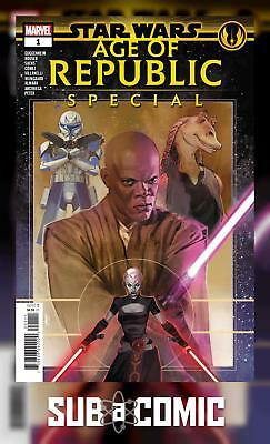 STAR WARS AOR SPECIAL #1 (MARVEL 2019 1st Print) AGE OF REPUBLIC COMIC