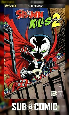 SPAWN KILLS EVERYONE TOO #2 COVER A MCFARLANE (IMAGE 2019 1st Print) COMIC
