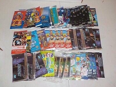 Non Sports Unopened Pack Lot of 47 Packs w/ American Heritage, X-Men, Marvel