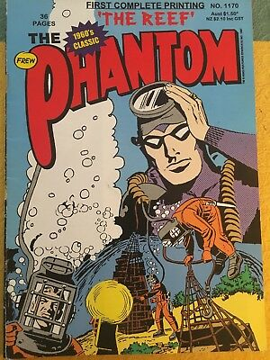 Phantom Frew Australia 3 Issue Comic Lot Lee Falk 1997