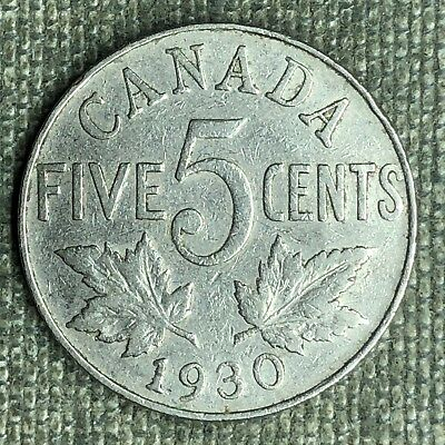 Canada 5 Cents, 1930 - A02501