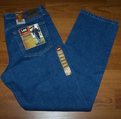 Size 36x32 Mens Regular Fit Straight Leg Lee Jeans