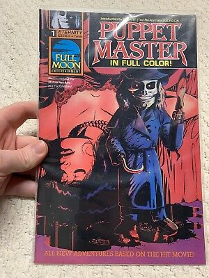 Puppet Master In Full Color! #1 & #2 Eternity Comics Comic Book