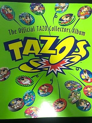 Tazos Official Tazo Collectors Album and Various Discs Looney Tunes Cheetos