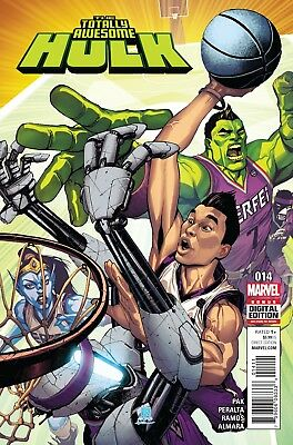 Totally Awesome Hulk #14 - 1St Print- Marvel - Bagged And Boarded. Free Uk P+P