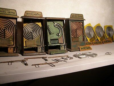 RESERVE PRICE LOWERED - LOT - Antique Table Top Penny Arcade Game. PACE WhizBall