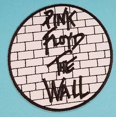 Pink Floyd The Wall Circle Embroidered Patch !