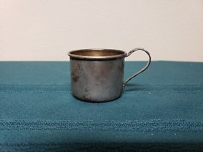 Vintage Antique Sterling Silver baby Cup by Lunt 551