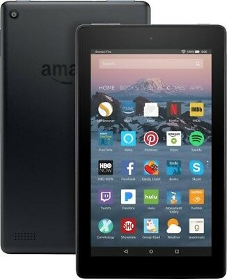 Amazon Fire 7 (7th Generation) 8GB, Wi-Fi, 7In - Black WITH Protective Case