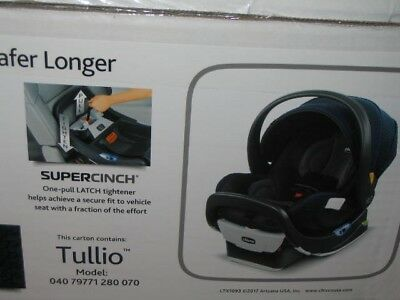 BRAND NEW Chicco Fit2 Infant & Toddler Car Seat in TULLIO