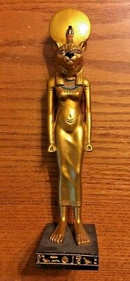 Ancient Egyptian Reproduction Sekhmet God Statue Sculpture Veronese