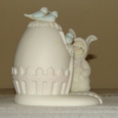 "Dept 56 Snowbunnies ""guests Are Always Welcome"" Figurine"