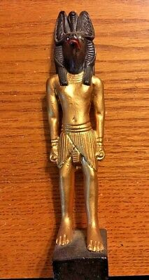 Ancient Egyptian Reproduction Anubis God Statue Sculpture Jbl