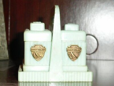Vintage CONEY ISLAND Salt and Pepper  Shakers
