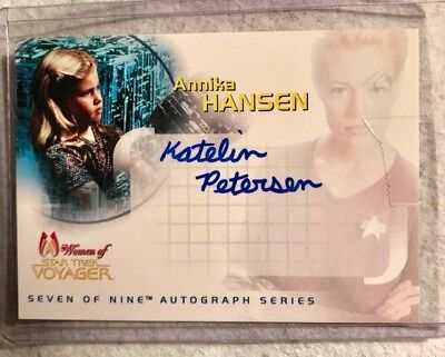 Katelin Peterson as Annika Hansen Women of Star Trek Voyager Misspelling SA2