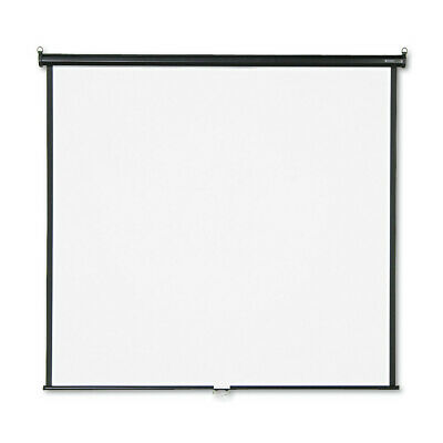 Quartet Wall Or Ceiling Projection Screen 70x70 White/Black Matte 670S NEW