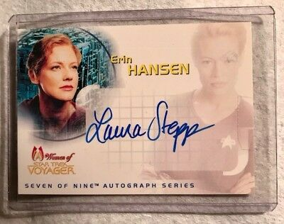 Laura Stepp as Erin Hansen Women of Star Trek Voyager 7 of 9 SA4
