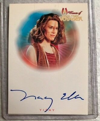 Tracey Ellis as Yifay Women of Star Trek Voyager Autograph Card A7