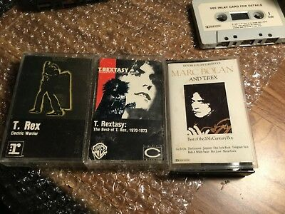 T-Rex - 2 Cassettes- Used Not Tested See Pics