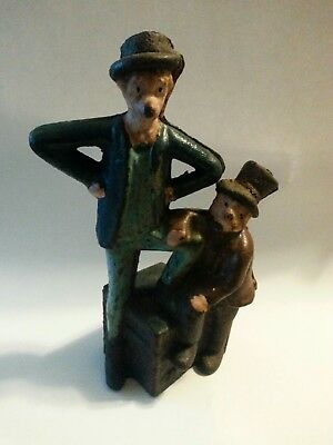 Antique Mutt and Jeff bank