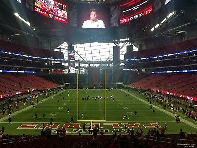 2~Sec 119~Row 38~Super Bowl LIII Tickets~Atlanta~Chiefs Patriots Saints or Rams?