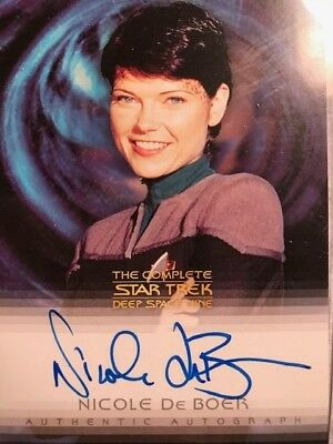 Nicole De Boer as Ensign Ezri Dax The Complete Star Trek Deep Space Nine A15