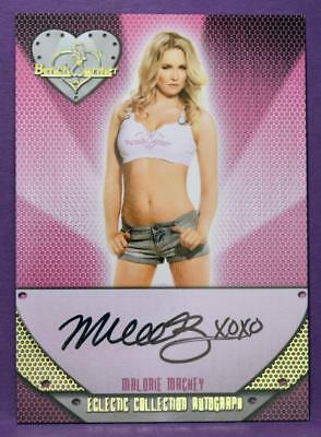 BenchWarmer 2014 Eclectic Malorie Mackey Authentic Autograph Insert #73