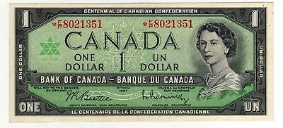 1967 Canada 1 Dollar Replacement Note - *FP8021351, BC-45bA-i